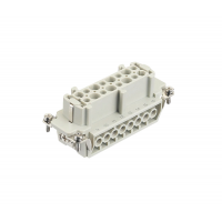 Harting HAN16 insert schroef female (bus)