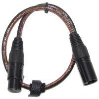 CLF - Adapter cable XLR5 male - XLR3 female, 50cm