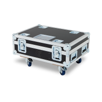 CLF - Flightcase for 4x CLF LEDwash RGBW/CWWW/XL + accessoires