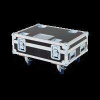 CLF - Flightcase for 4x CLF LEDwash RGBW/CWWW/XL + accessoires