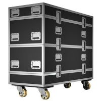 K2-BUMPFLIGHT - Modular K1-BUMPFLIGHT flight case adapted fo