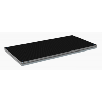 Eurotruss - PRO DECK 100X050CM Black Hexa anti-slip Plywood