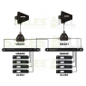 Shure - ULXD14Q/LC - K51 (606-670 MHz)