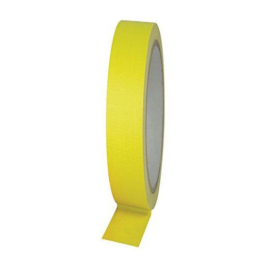Gaffer Tape Neon Yellow 25mtr/19mm