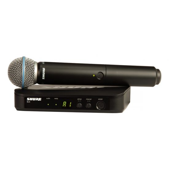 Shure - BLX24/BETA58 - K14 (614-638 MHz)