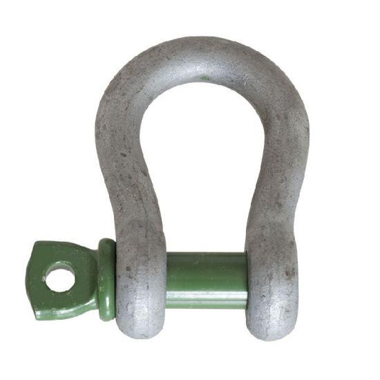 Shackle  1T - Screw Pin - Green Pin