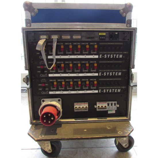 Used | Celco - 18 x 2.5 kw dimmerrack in case