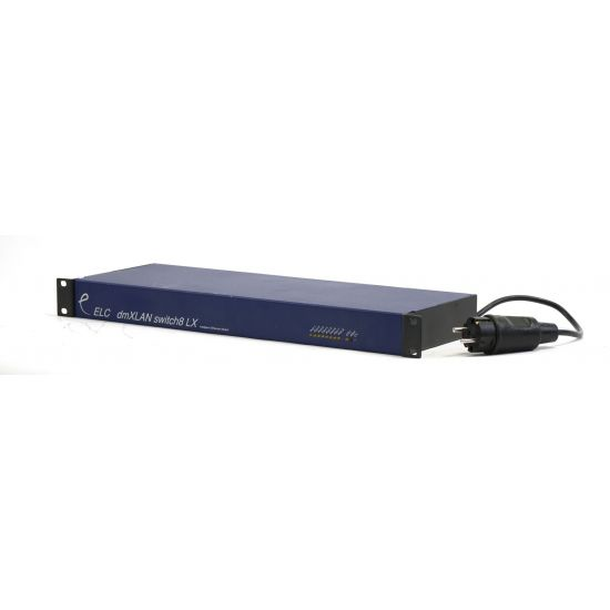 Used - ELC - dmXLAN Switch8 LX