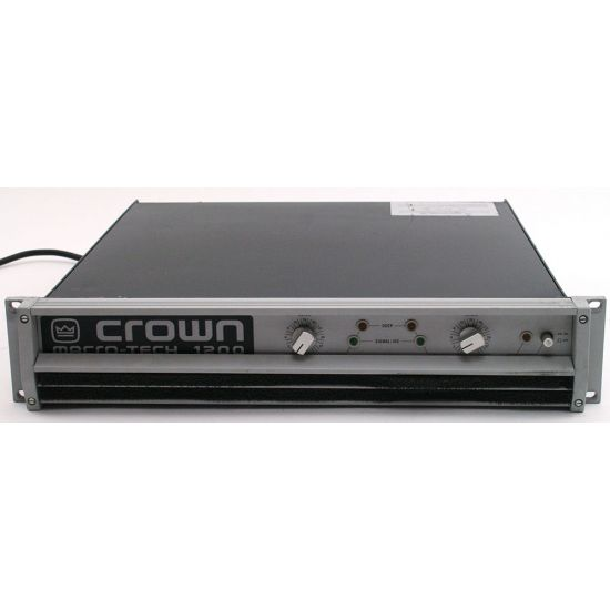 Used | Crown - Macrotech MA1200