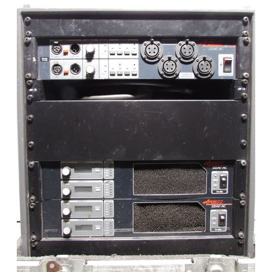 Used | Apogee - Amp Rack P-8 RV + 2x DA800