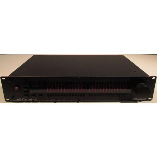 Used | Digitech MEQ  Dual 14 band midi programmable EQ
