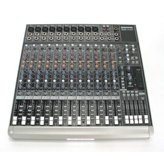 Used | Mackie - 1642VLZ3 mixer (incl. flightcase)