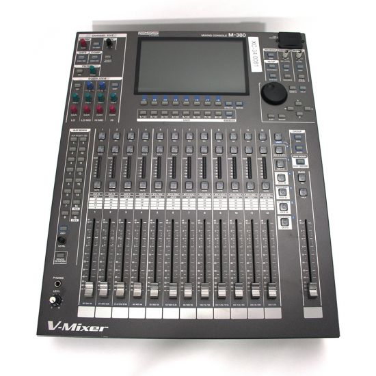 Used   Roland - M380 Digital Mixing Console