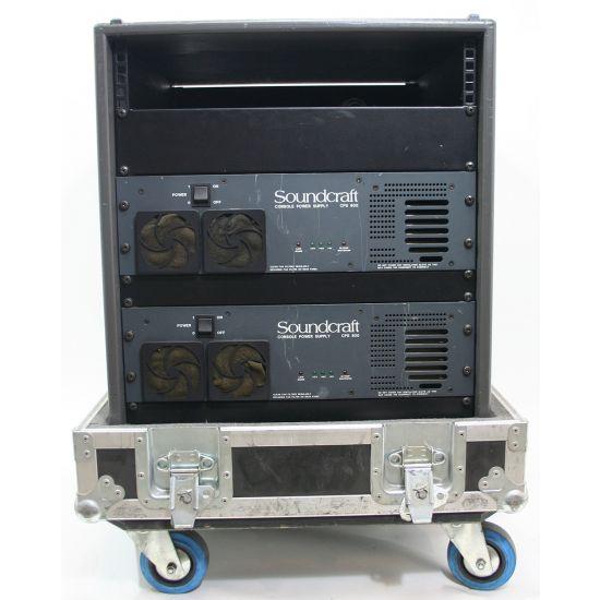 Used | Soundcraft - Rack 2x CPS 800 PSU (incl. flightcase)