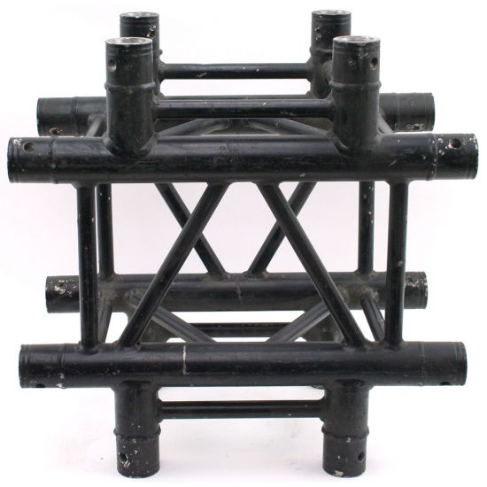Used | EXPO truss - X-joint 4way - Black