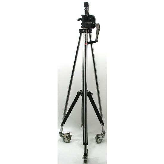 Used | Manfrotto - Wind Up Stand 083NW (Chrome) & Wheels