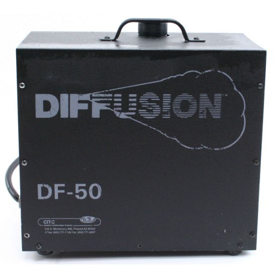 Used | Diffusion - DF50 hazer (incl. flightcase)
